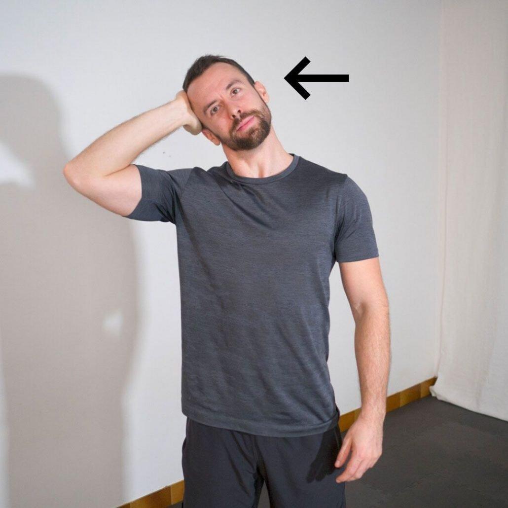 stretchingpro-hernie-cervicales-cou-isometrique-flexion-laterale