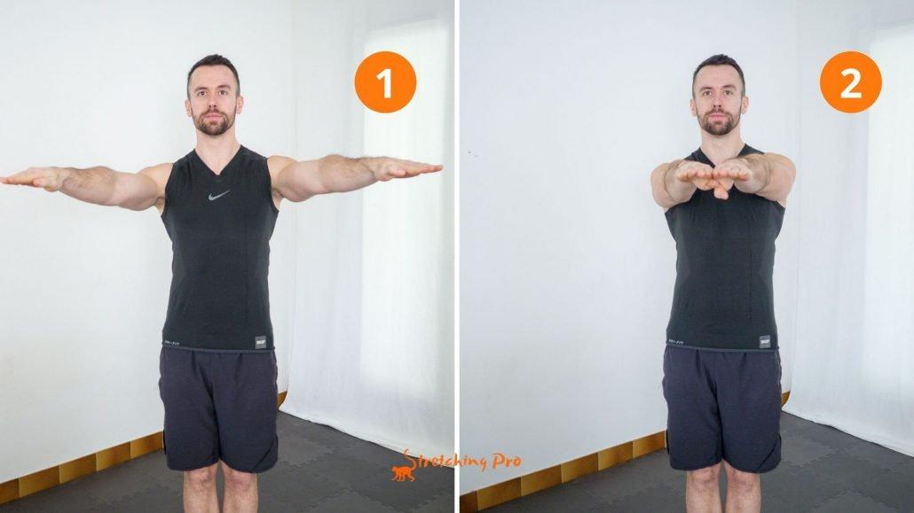 stretchingpro-posture-contre-mal-dos-epaules-plan-sagittal