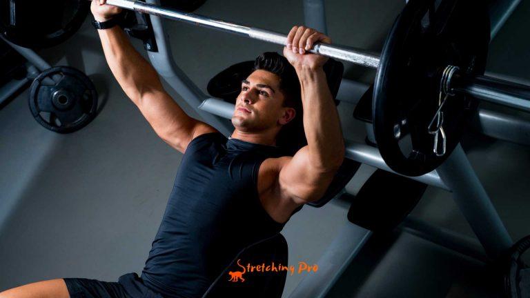 stretchingpro-douleur-epaule-developpe-couche